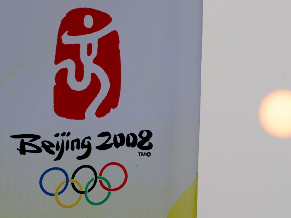 Logo de los Juegos Olímpicos de Pekín 2008.