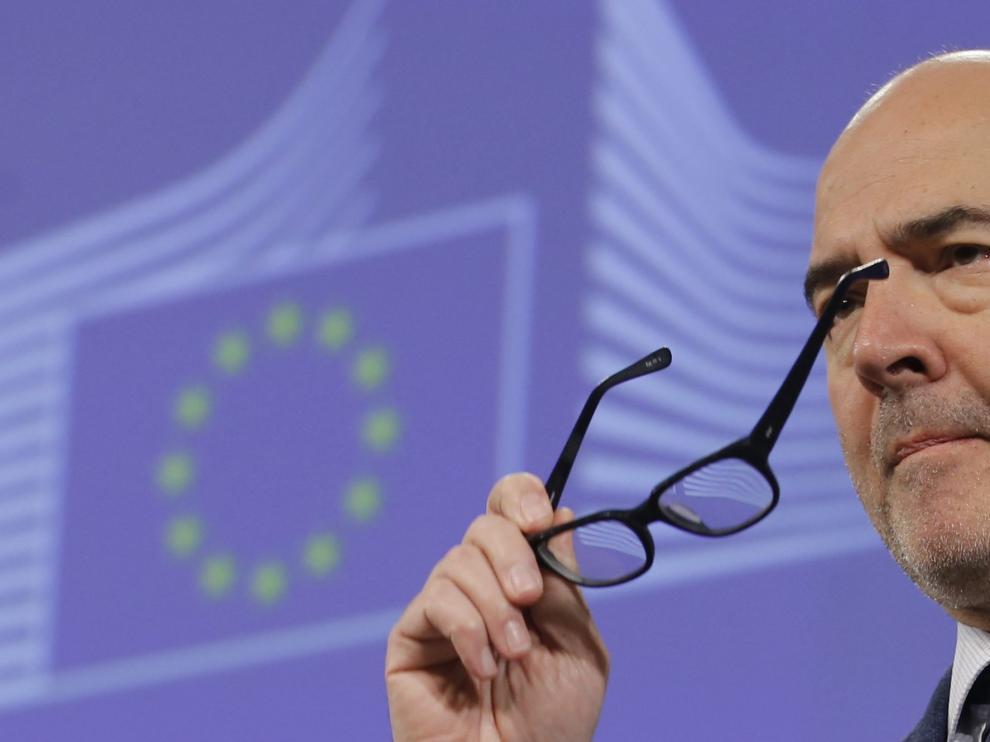 El comisario europeo de Asuntos Económicos, Pierre Moscovivi.