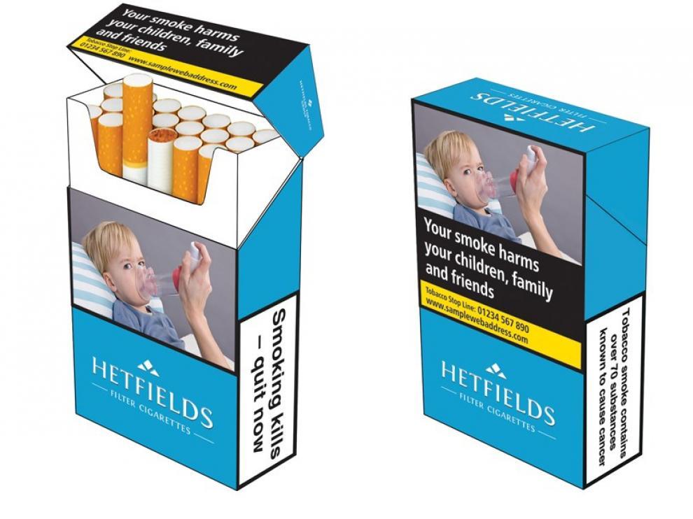Los mensajes antitabaco ocuparán a partir de ahora el 65% de la cajetilla.