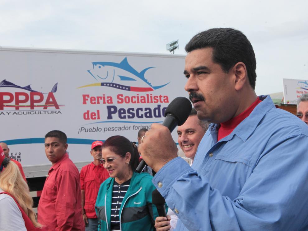 Nicolás Maduro en una imagen de archivo.