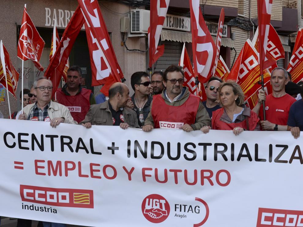 Manifestación de este jueves en Andorra