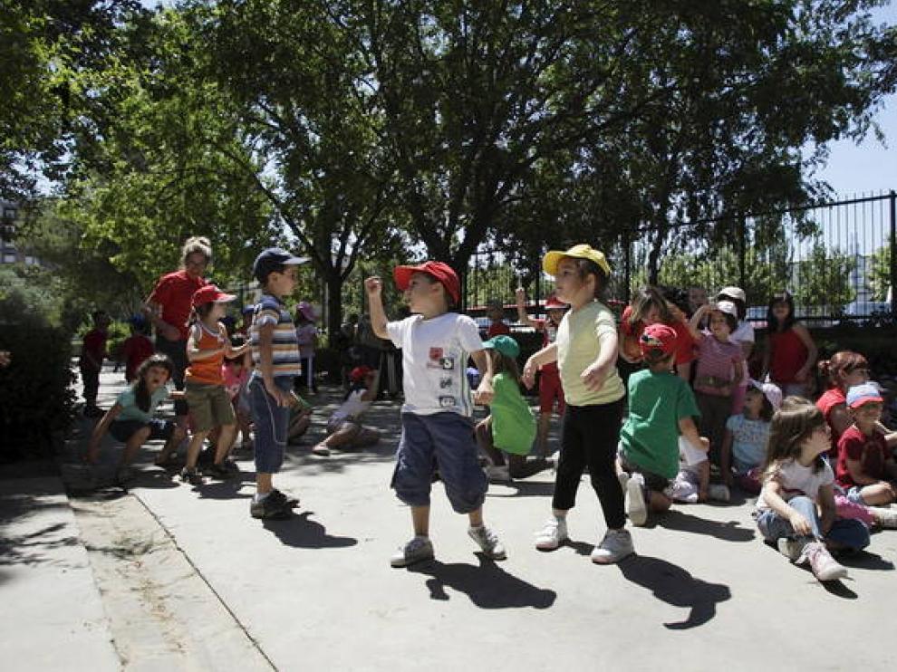 Colonias de verano en el colegio Jerónimo Zurita.