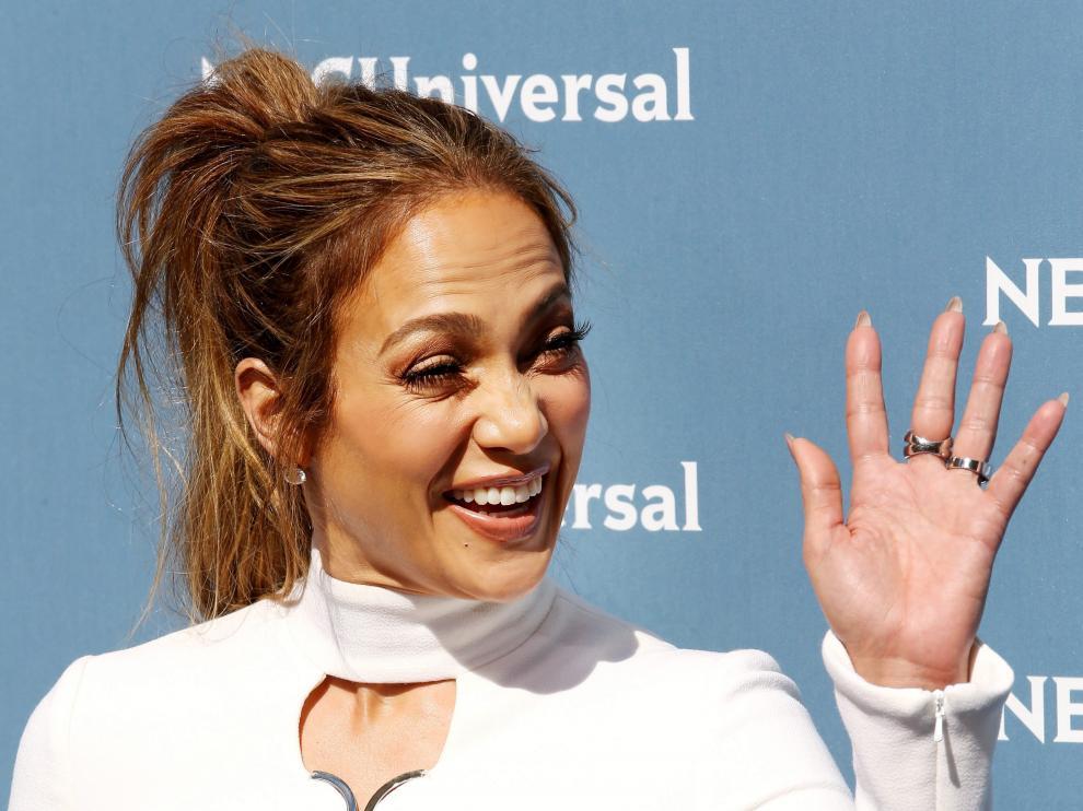 La actriz y cantante Jennifer López.