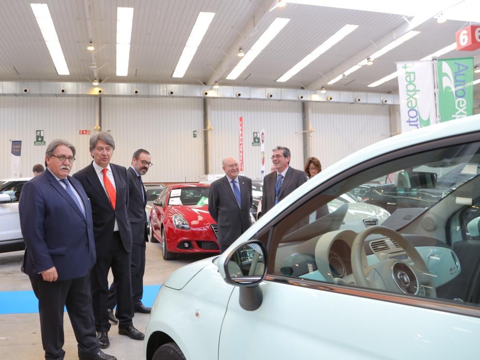 Inauguración de Stock-Car 2016 en la Feria de Muestras de Zaragoza.