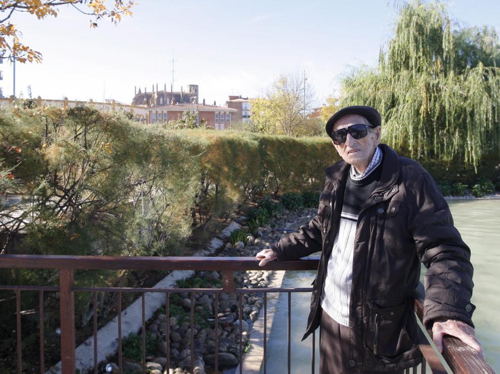 Benjamín Tarragüel, fotografiado en Huesca en noviembre del año pasado.