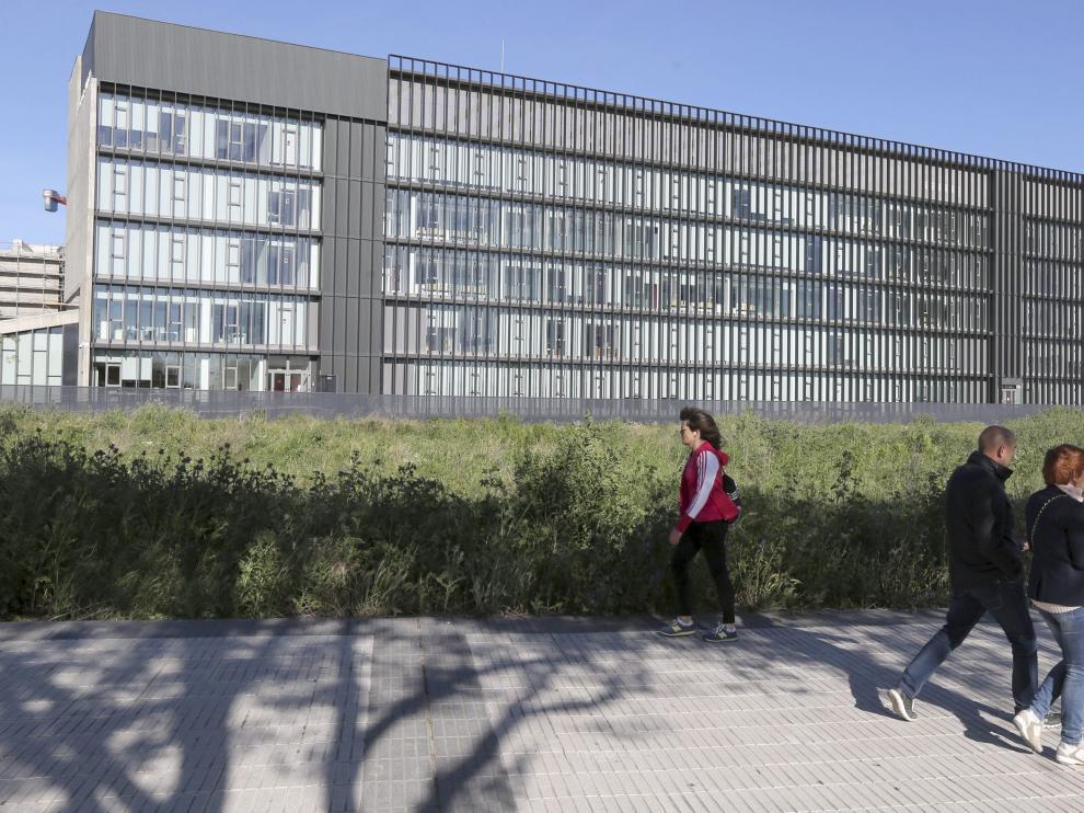 Solar en el polígono 41 donde está prevista la construcción del centro de salud de los Olivos.