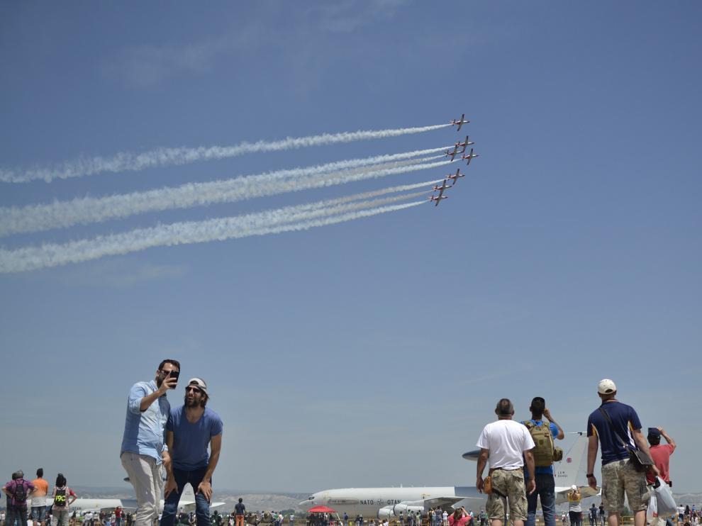 Día de puertas abiertas en la Base Aérea el pasado sábado