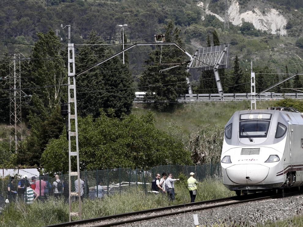 El accidente ha ocurrido entre Pamplona y Zuasti.