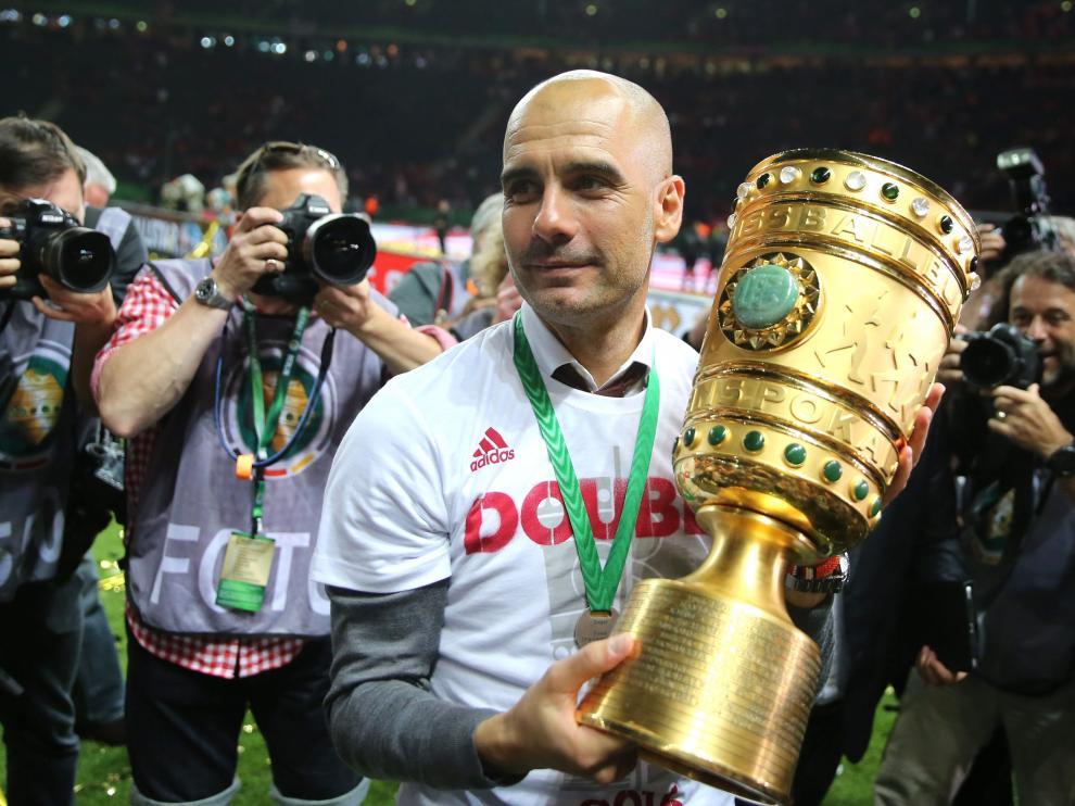 El Bayern de Múnich se impone al Borussia y gana la Copa alemana.