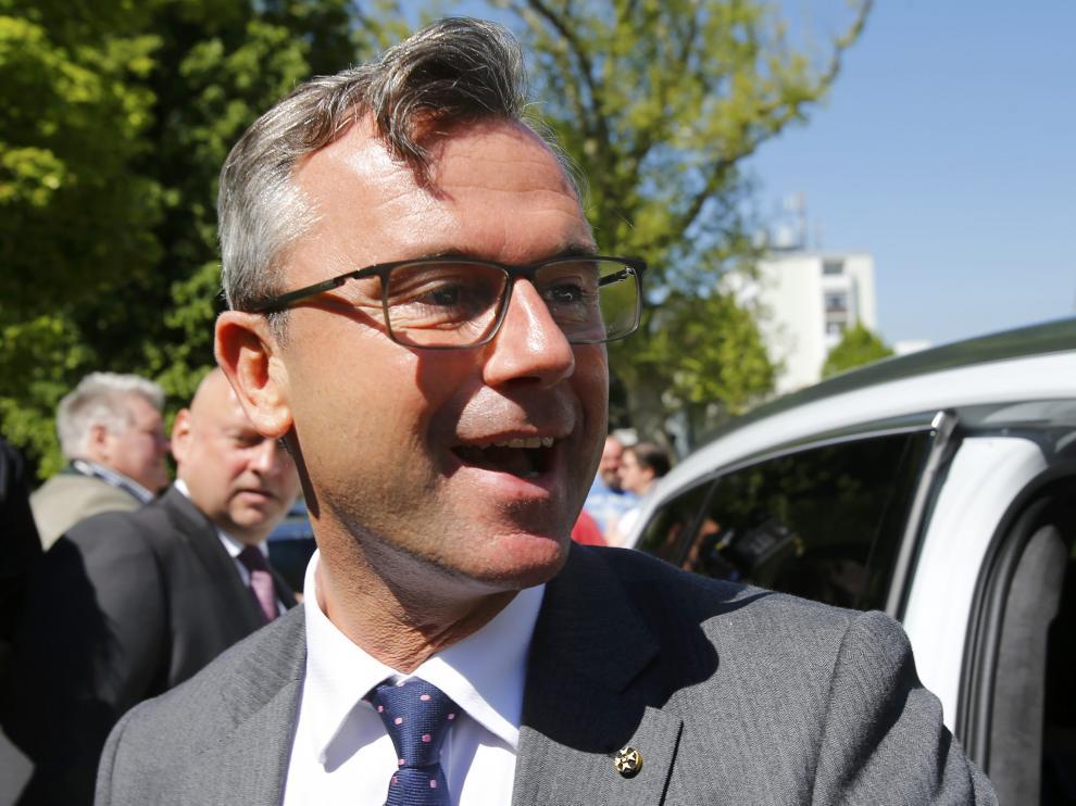 Hofer, candidato a la presidencia de Austria.