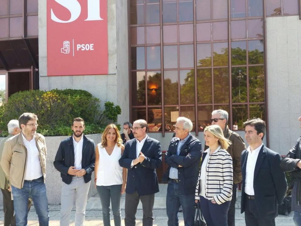 Acto de presentación de candidatos del PSOE.