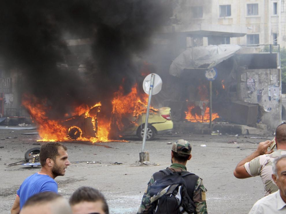 Atentado del EI en Siria.