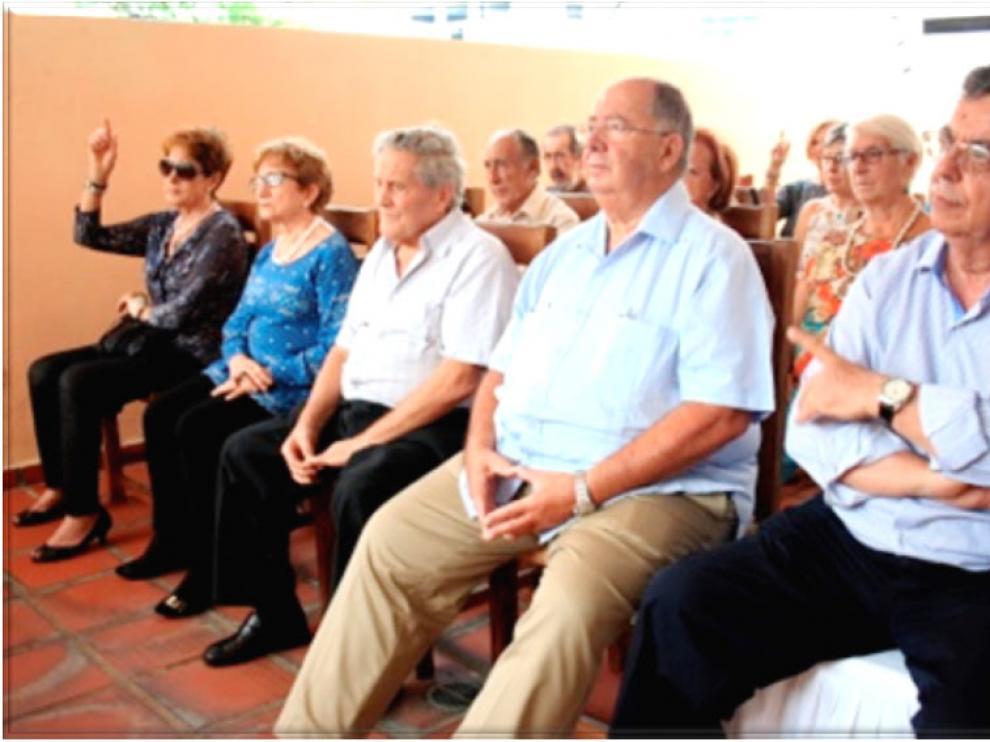 Último encuentro de aragoneses en Venezuela con motivo de San Jorge.