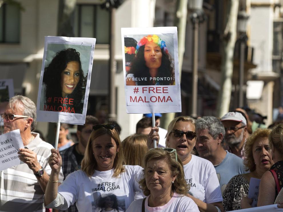 La familia de Maloma pide su liberación