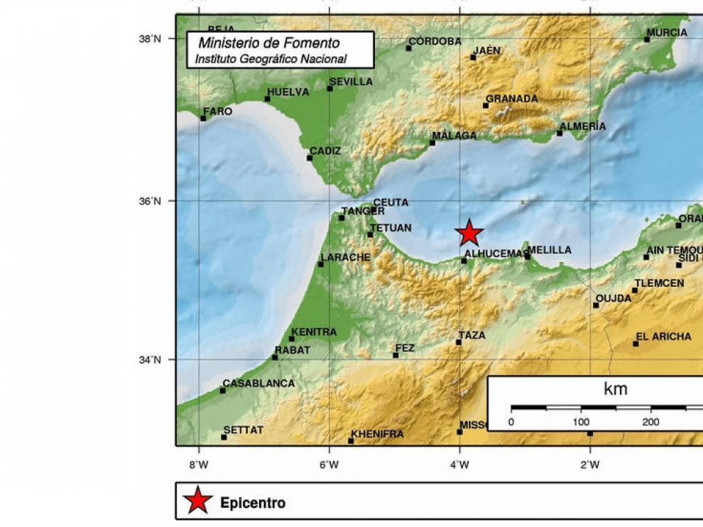 Terremotos en el mar de Alborán