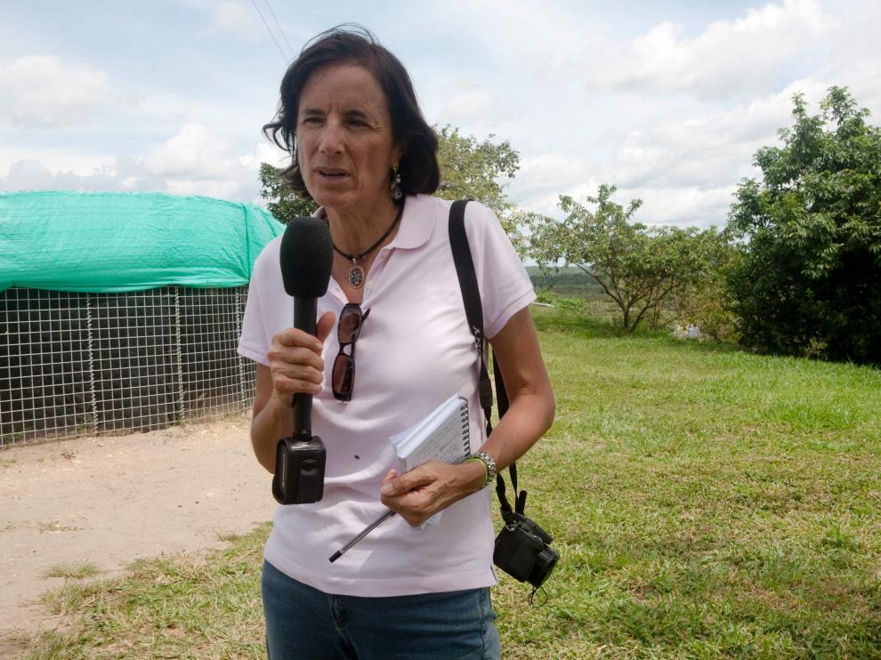 Imagen de archivo de la periodista española Salud Hernández.