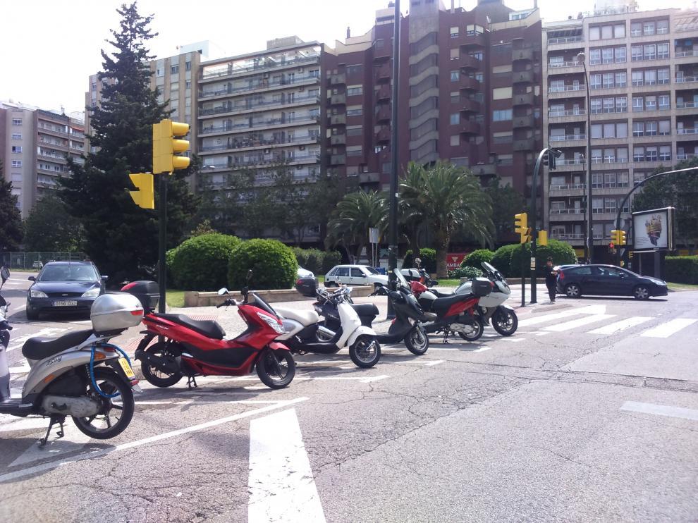 Aparcamientos para motos