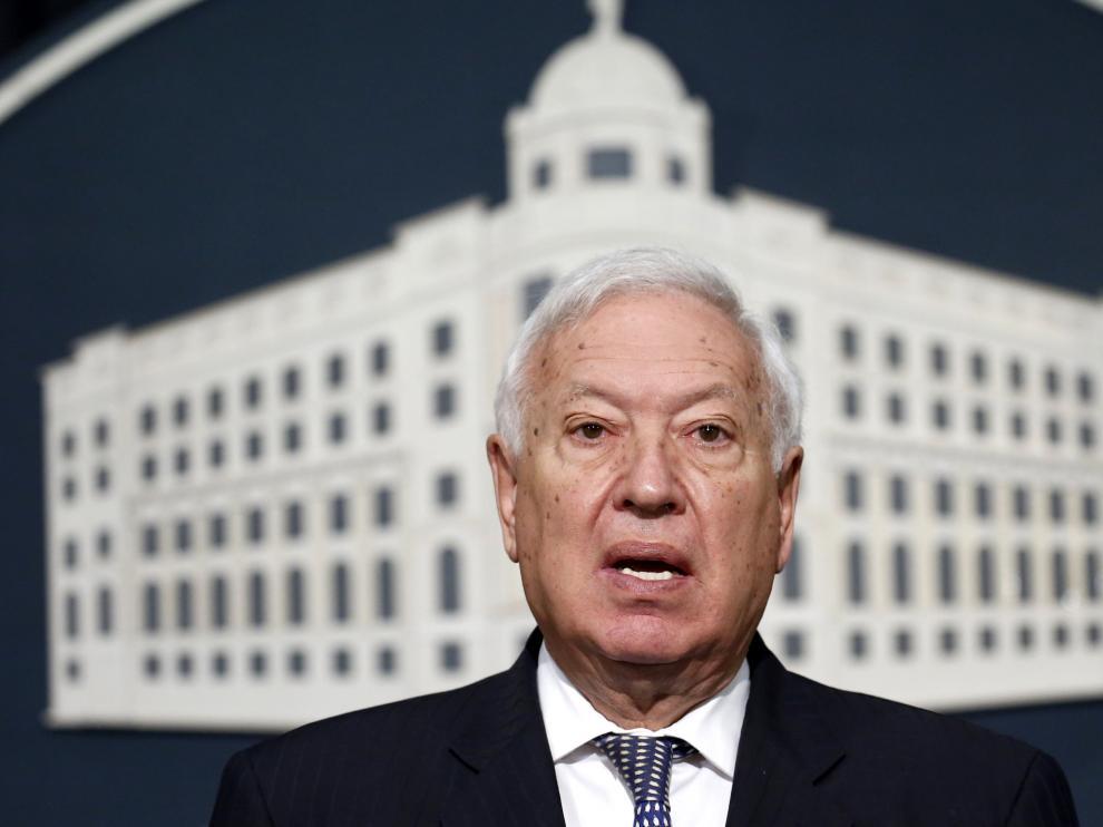 El ministro de Exteriores en funciones, José Manuel García Margallo.