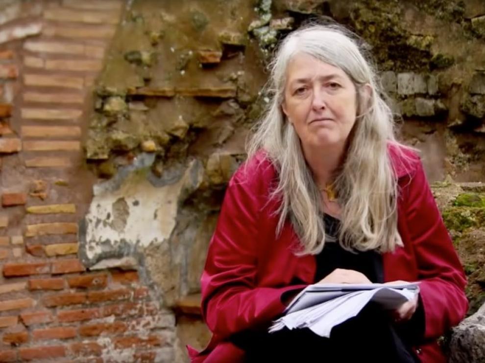 Mary Beard, catedrática de Clásicas en el Newhham College de la Universidad de Cambridge y responsable de varias series para la BBC.