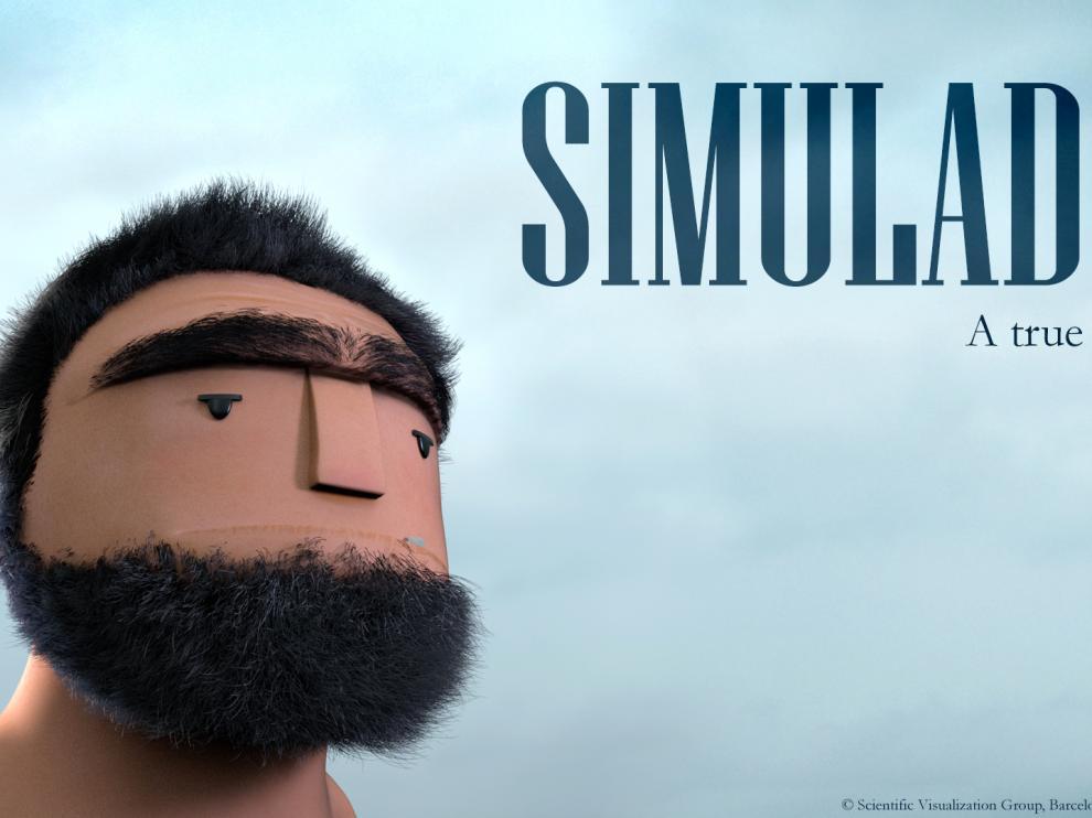 Cartel de 'Simulados'.