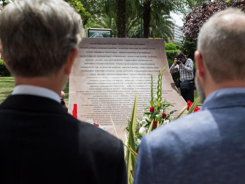 Al acto de conmemoración ha acudido el alcalde Pedro Santisteve