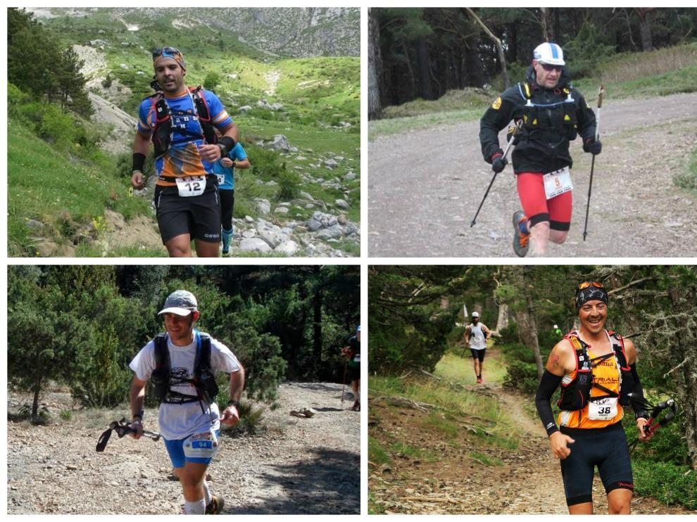 Jorge Aramburo, José Antonio Pinilla, Óscar Vázquez y Ángel Hernando, los cuatro aspirantes a finalizar el reto