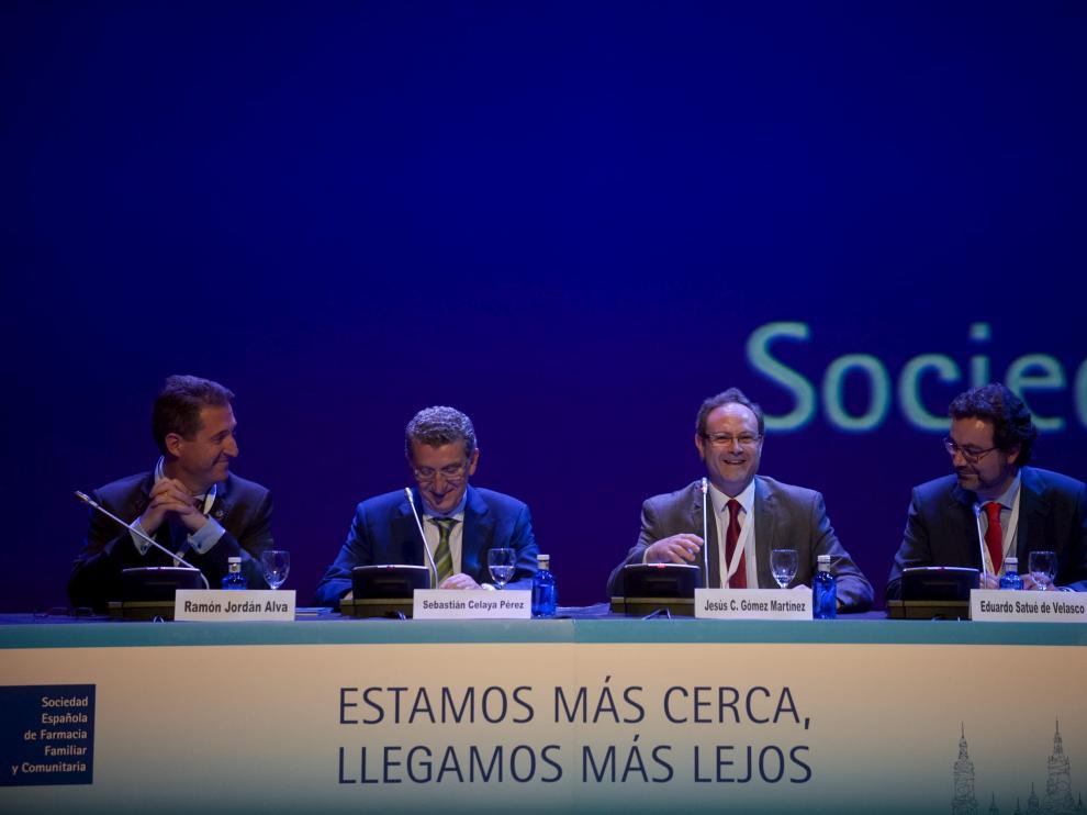 Inauguración del VII Congreso de la Sociedad Española de Farmacia Familiar y Comunitaria en Zaragoza.