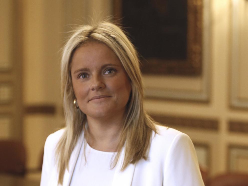 La presidenta de la Fundación de Víctimas del Terrorismo, Mari Mar Blanco, en una imagen de archivo.