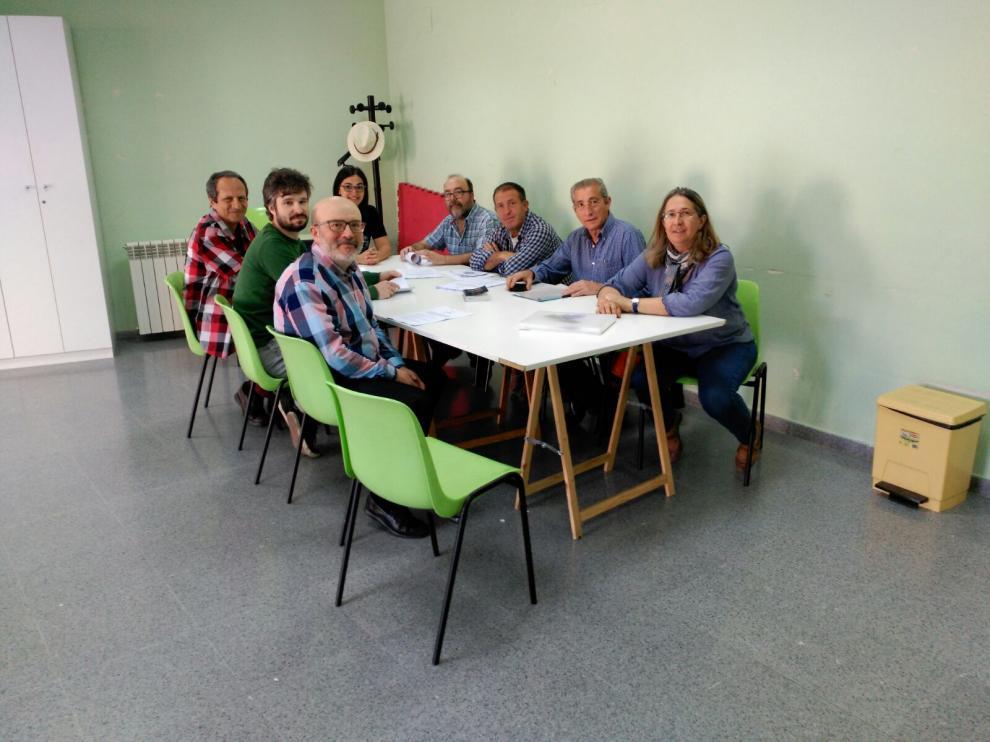 El grupo que promueve la Asociación de Esperanto en Teruel