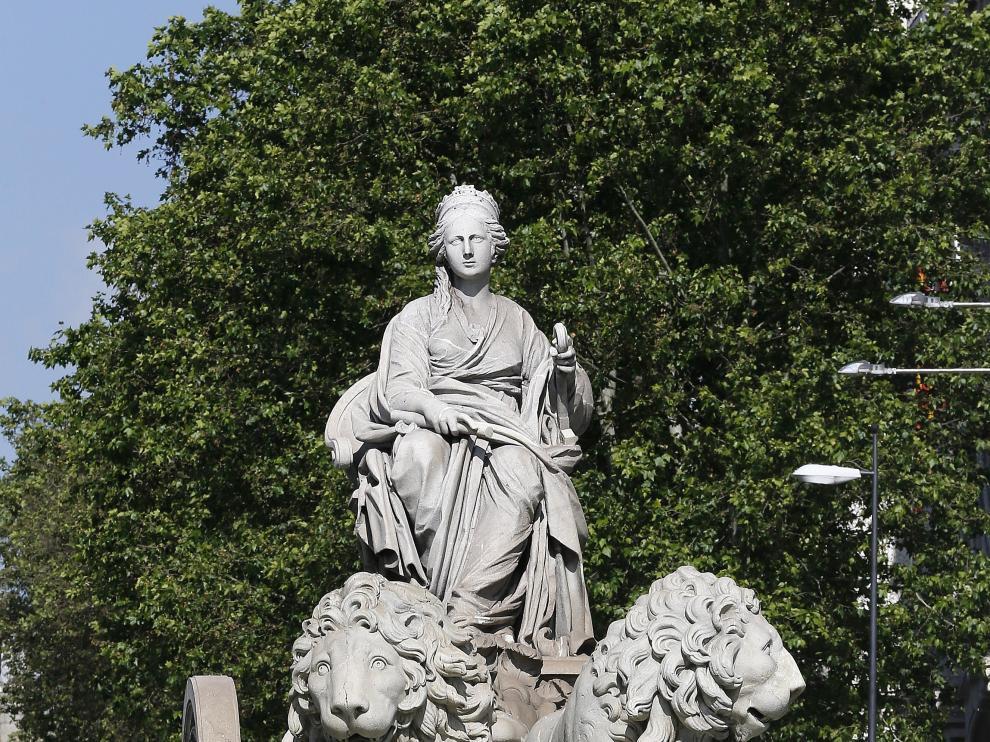 Fuente de Cibeles, en Madrid