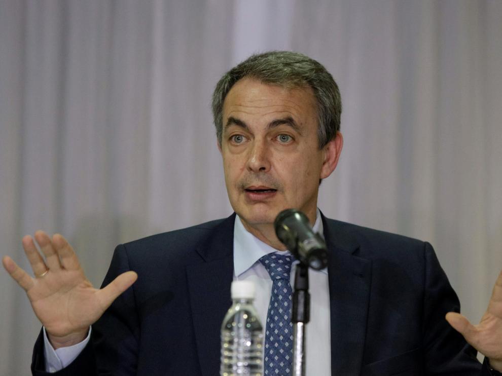 Zapatero en Caracas, imagen de archivo.