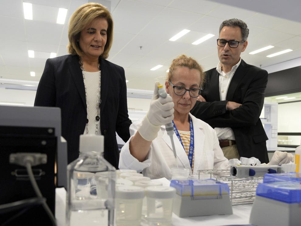 Báñez promete 80.000 empleos en Aragón la próxima legislatura