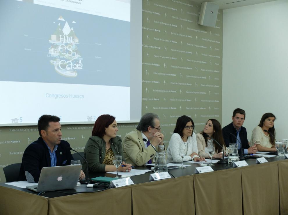 Presentación de 'Huesca, la Magia de los Congresos'.