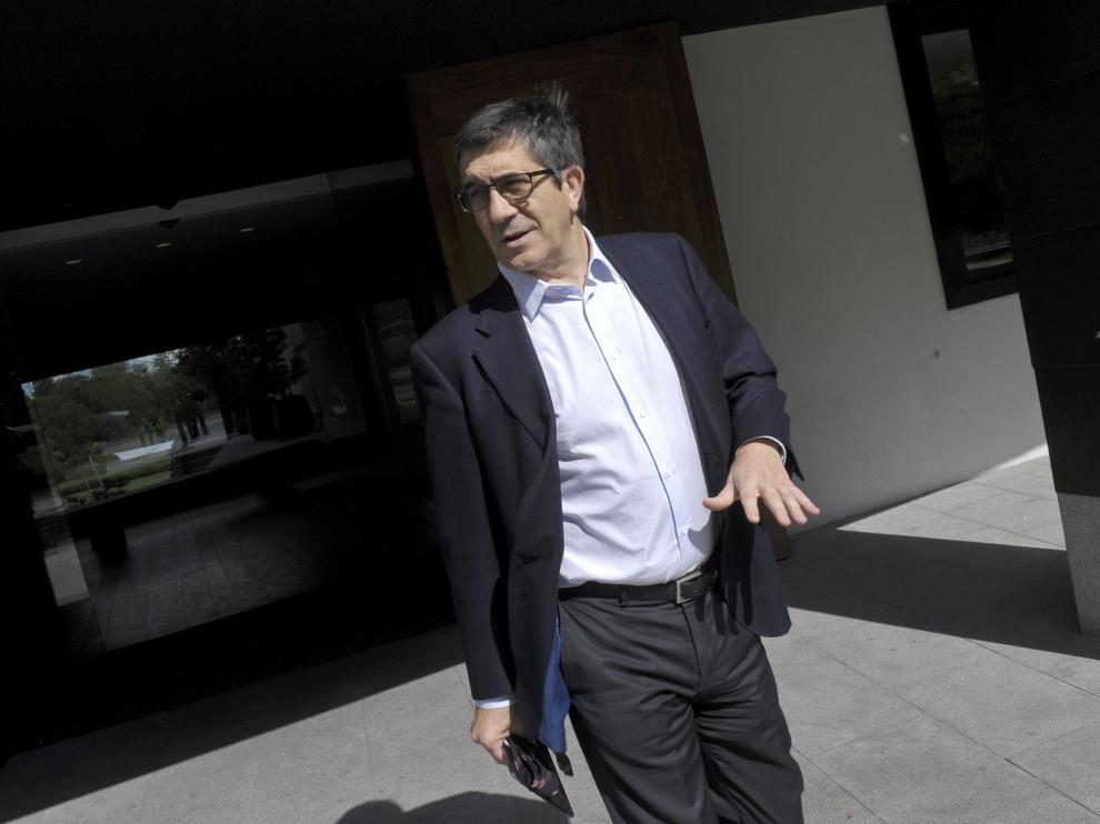 El presidente del Congreso de los Diputados, Patxi López