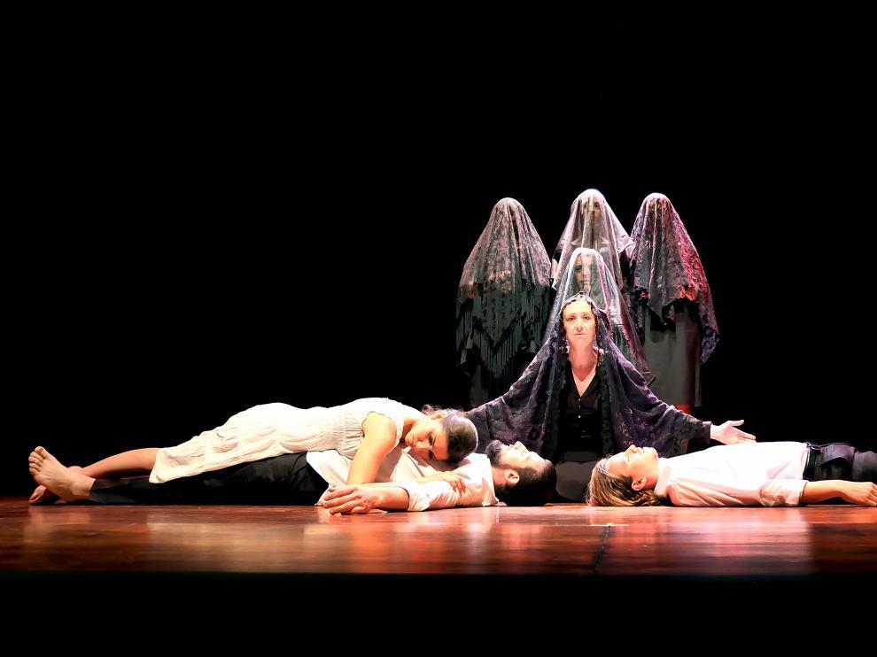 La compañía aragonesa Teatro del Alma representará 'Bodas de sangre' en el Festival.