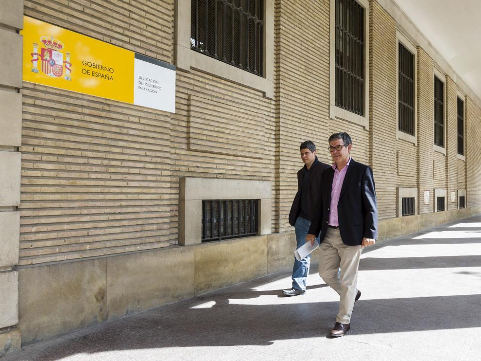Guillén y Alcalde se reúnen en el Ayuntamiento