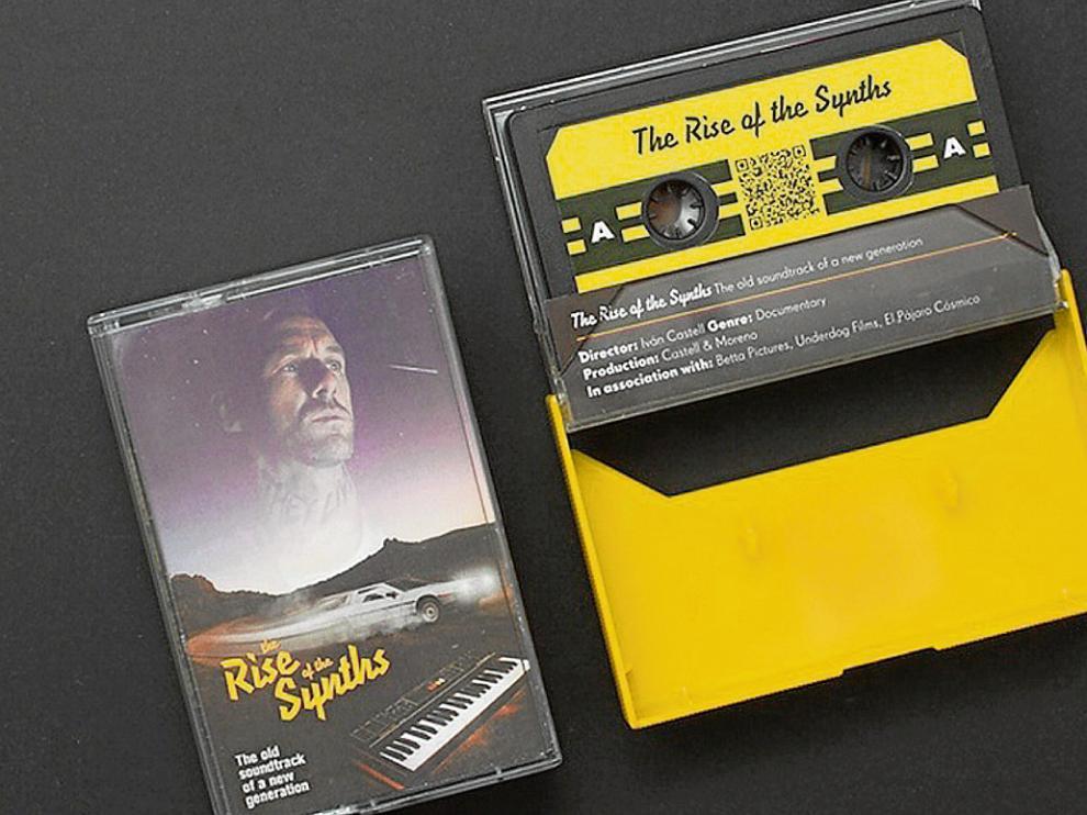 La banda sonora del proyecto, en cassette de edición limitada.