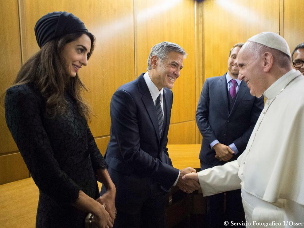 Su historia no solo conmovió al Papa Francisco sino también a grandes estrellas de Hollywood como George Clooney, Richard Gere o Salma Hayek