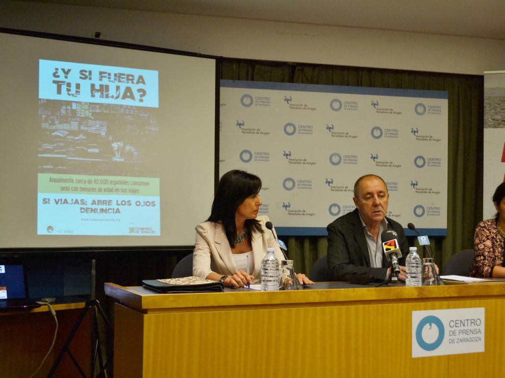 Rueda de prensa de presentación de la campaña de la Fundación Más Vida en la sede de la APA.