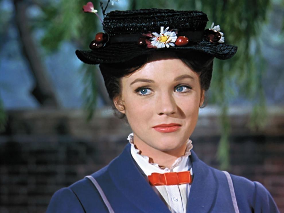 Julie Andrews protagonizó la película original de 'Mary Poppins'.