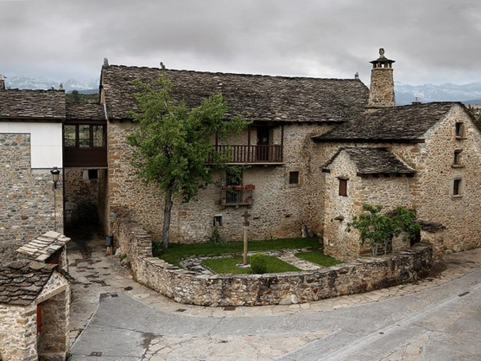 El Museo Ángel Orensanz y Artes del Serrablo de Sabiñánigo se inauguró en 1979.
