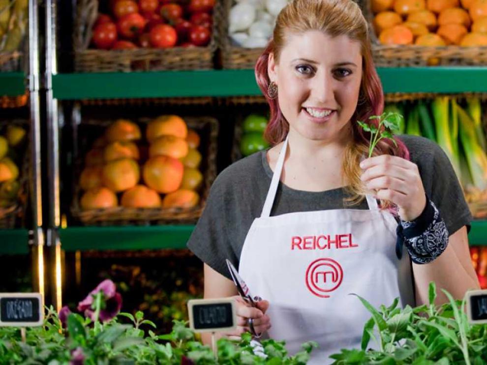 Raquel Pardo, 'Reichel', la concursante oscense de 'Masterchef'.