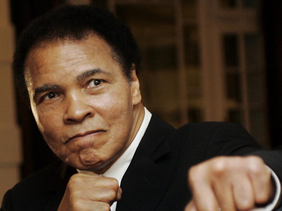 Muhammad Ali en una imagen de archivo.