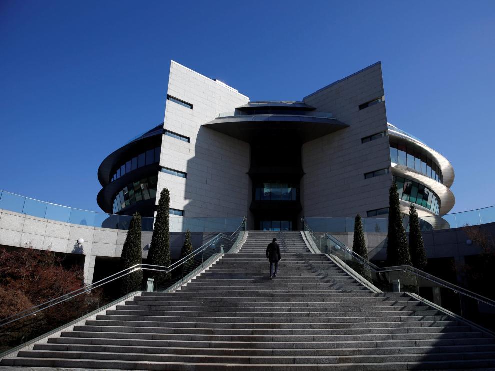 Sede del Banco Santander en Madrid.