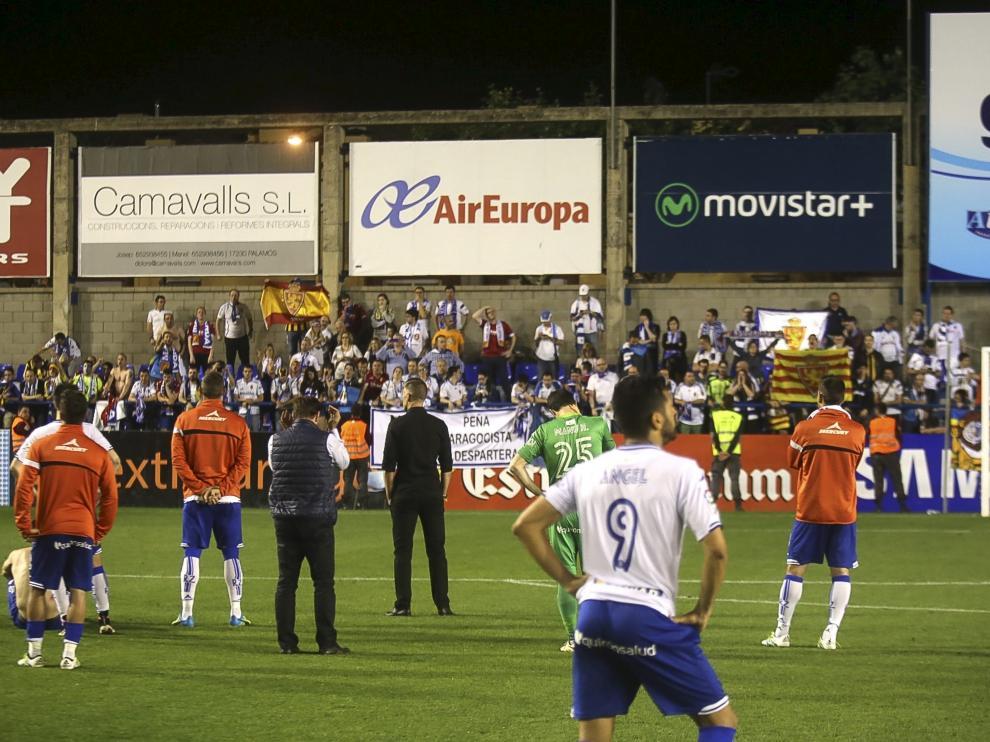 Llagostera-Real Zaragoza
