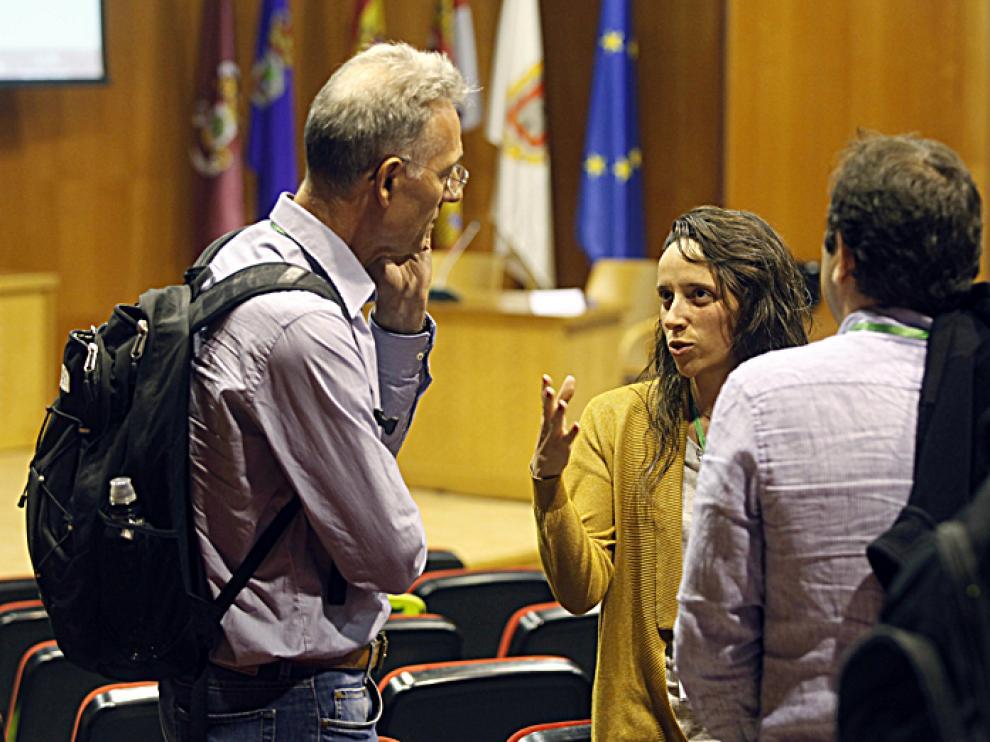 Uno de los instantes de la I Conferencia Internacional en Bioenergía y Cambio Climático