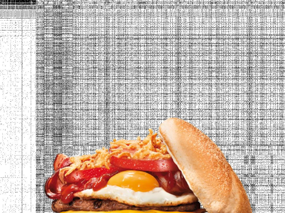 La nueva hamburguesa con huevo frito congelado