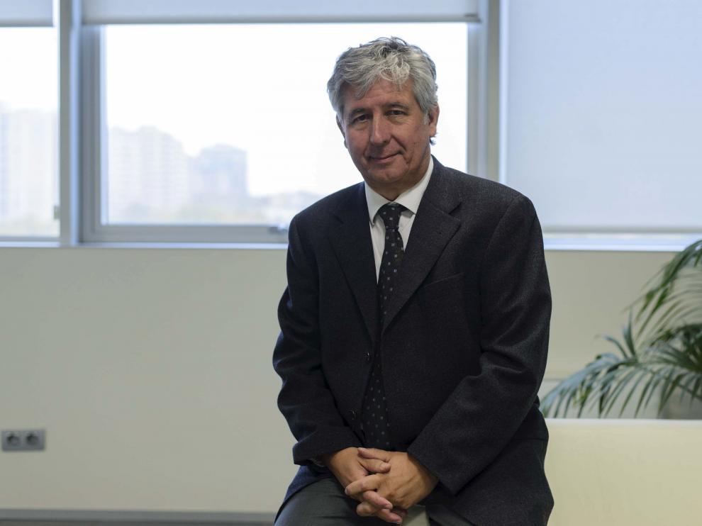 Javier Marión, gerente del Salud.