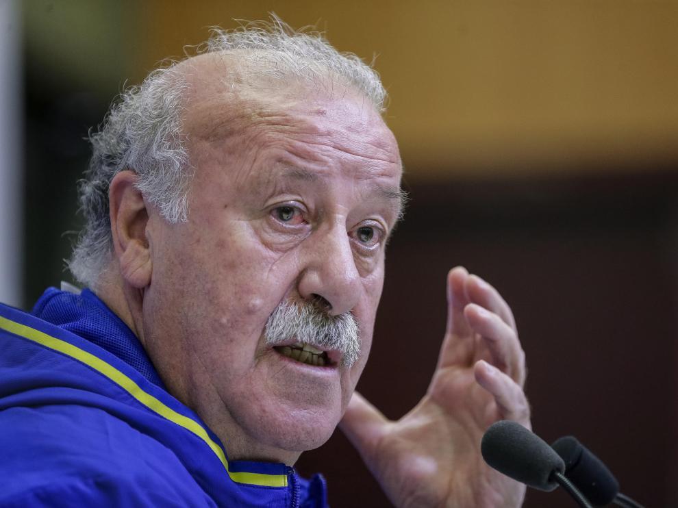 El exseleccionador español de fútbol Vicente del Bosque.