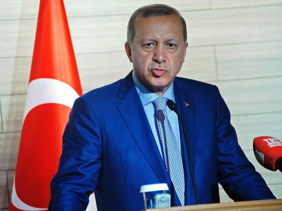 El presidente de Turquía, Recept Tayyip Erdogan.
